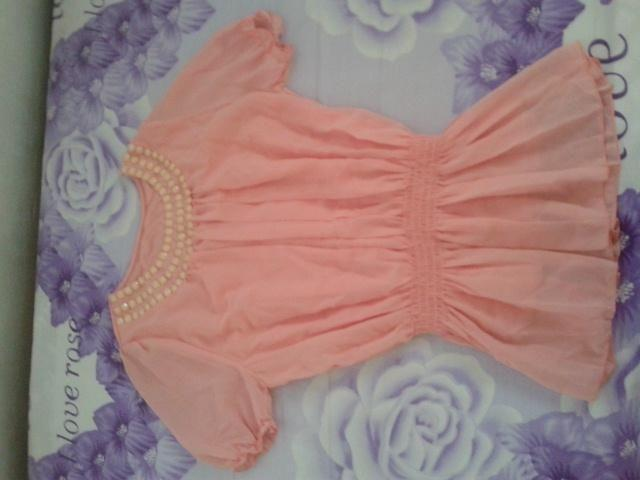 Brand New Free Size Peach Top From Korea