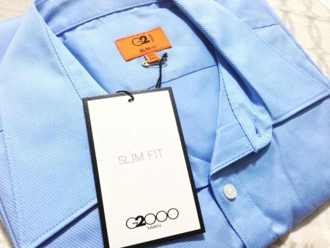 Brand New G2000 Long-Sleeved Slim-Fit Shirt