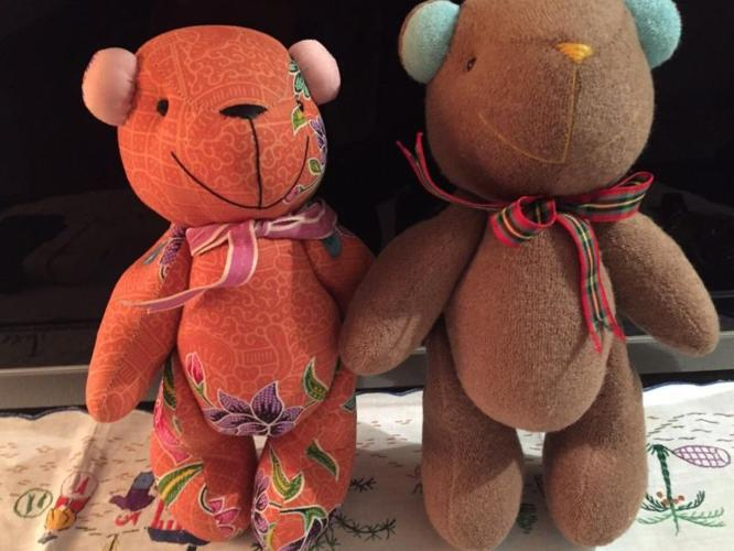 Brand NEW*** Hand Stitched bear Set #4