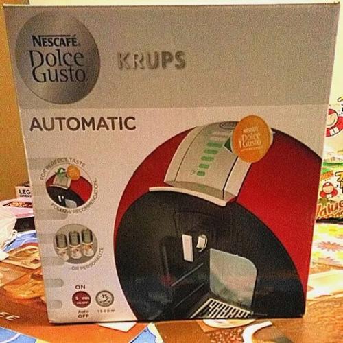 Brand New KRUPS Nescafe Dolce Gusto Circolo Automatic