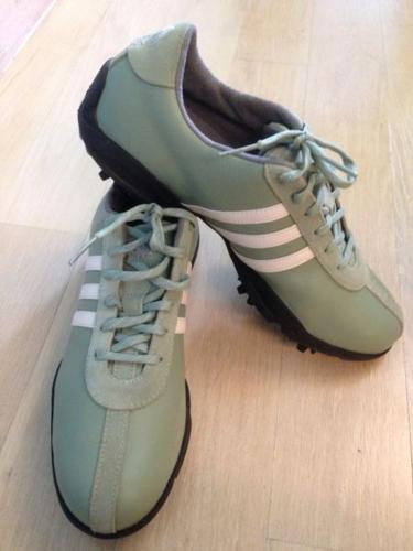 Brand New Ladies Adidas Golf Shoe (Green)