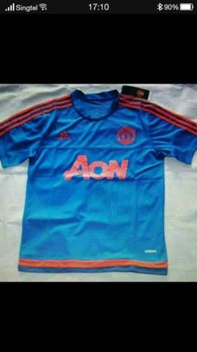 Brand new Manchester United thai blue version jersey.