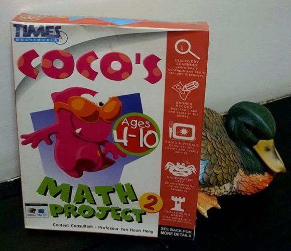 Brand New*** Multimedia- 'Coco's Math Project 2'