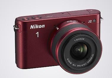 Brand New Nikon 1 J2 (Red)
