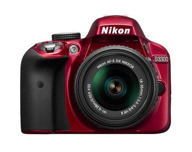 Brand New Nikon DSLR D3300 with AF-S 18-55mm VRII +