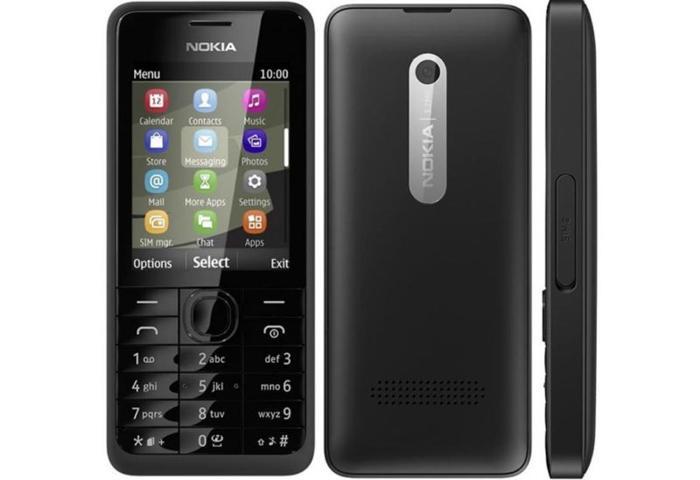 Brand New Nokia 301 Dual SIM with original box