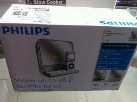 Brand New Philips Docking Entertainment System