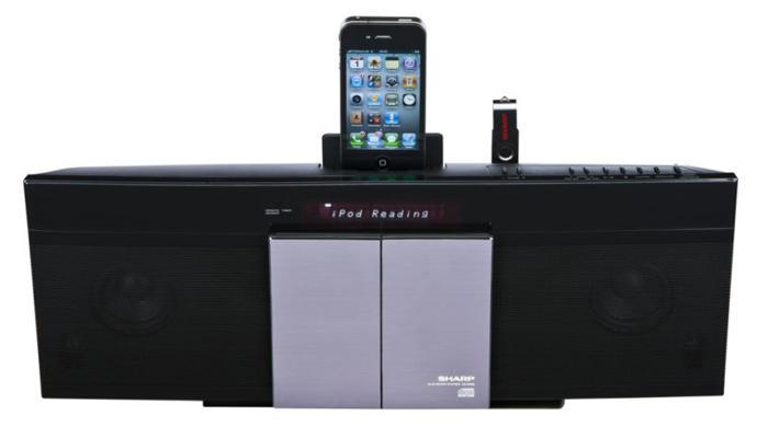 Brand New Sharp Slim All-in-One HiFi Audio System