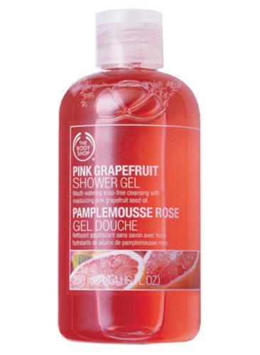 Brand New The Body Shop Pink Grapefruit Shower Gel