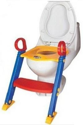 brand new Toddler's folding toilet seat with ladder,