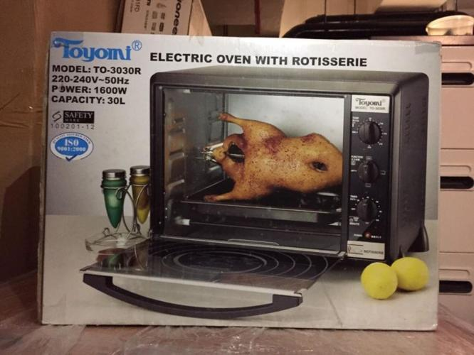 BRAND NEW TOYOMI Electric Oven With Rotisserie