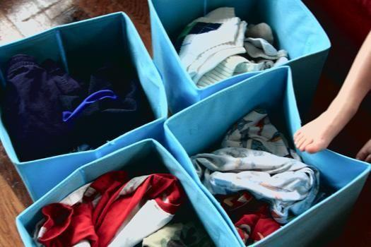 Bucket of Clothes (Ranging from Small to Medium Sizes)