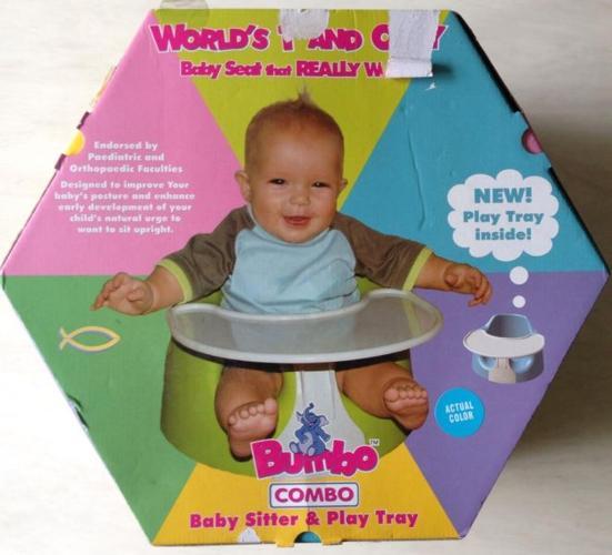 Bumbo Combo Baby Sitter & Play Tray