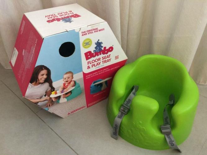 Bumbo Floor Seat & Play Tray (Combo Pack)