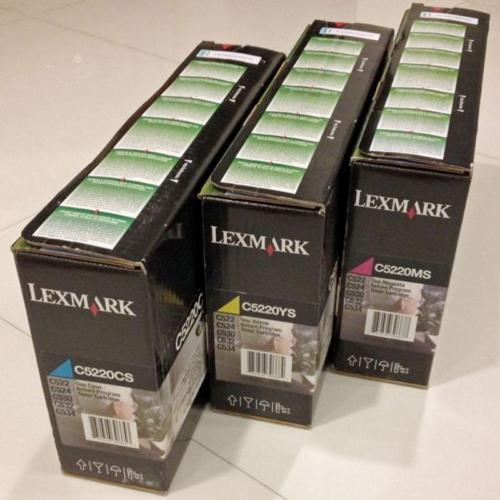 BUY 3 NEW Colour Toners & Get FREE Lexmark C532n Colour