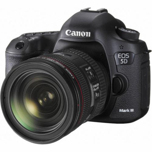 Canon 5D Mark III DSLR Camera Body + Canon EF 24-70mm
