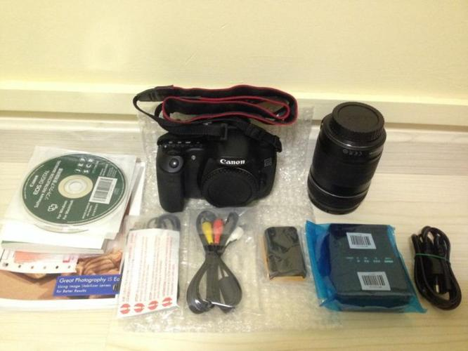 Canon 60D kit II (good condition)