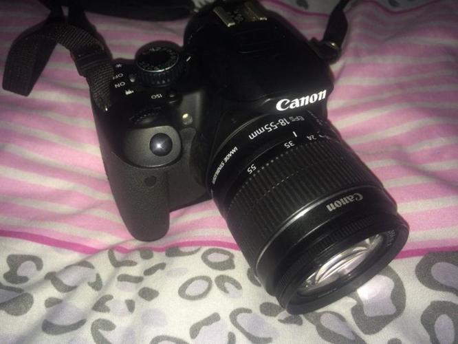 Canon 650D with 18- 55 lens, two and half (Aug-12)