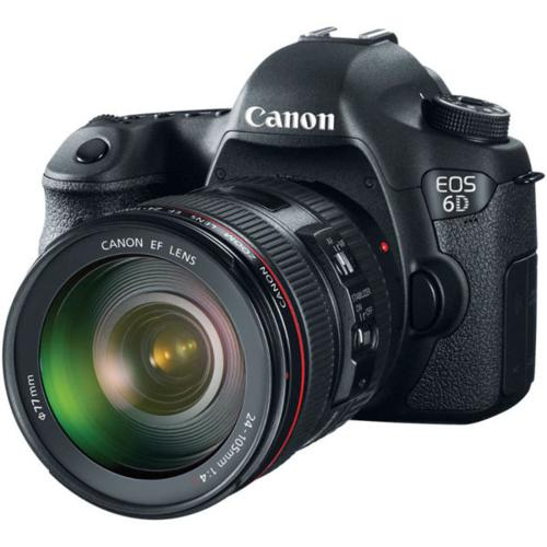 Canon 6D EOS Camera Body + Canon EF 24-105mm f4 L Lens