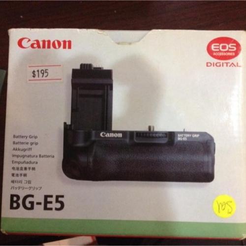Canon BG-E5 Camera Grip.