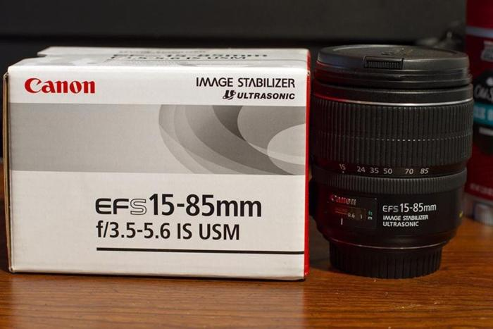 Canon EF-S 15-85mm f/3.5-5.6 IS USM Good Condition