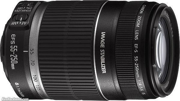 Canon Ef-S 55-250 IS Lens going for $140 ONLY***