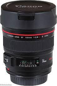 Canon EF 14mm f/2.8L II USM Ultra-Wide Angle Lens