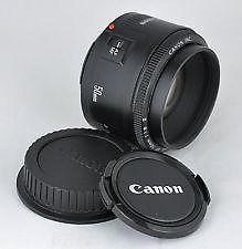 Canon EF 50mm f/1.8 II for EOS DSLR MINT CONDITION