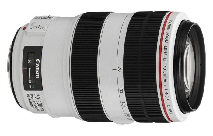 Canon EF 70-300mm f/4-5.6 USM L IS (used only once)