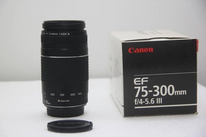 Canon EF 75-300 III $135