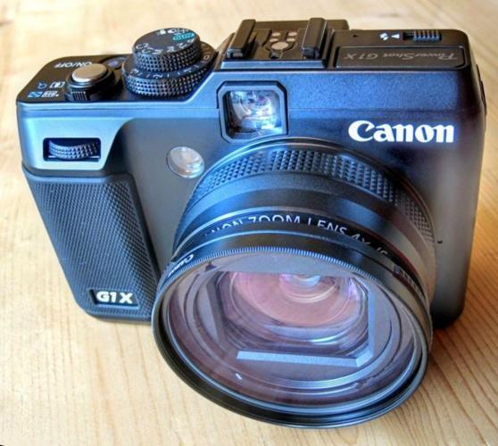 Canon G1X - Compact Black