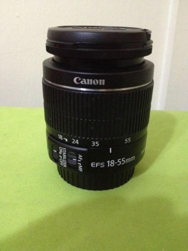 CANON SLR CAMERA LENS 18-55 mm