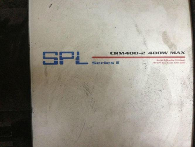 Car Audio SPL- 400 watts amp , twetter and woofer
