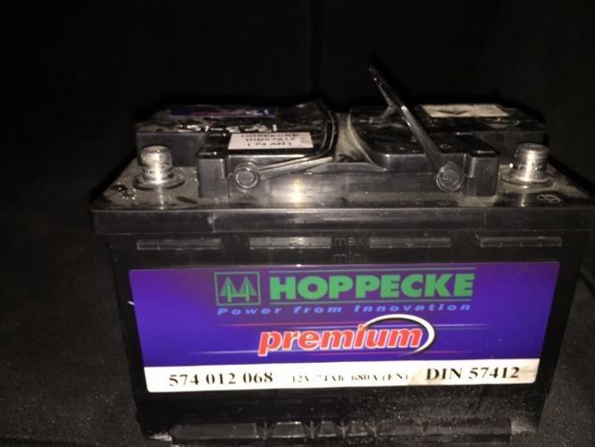 Car Battery 12 volt 74 Ah (just 15 months old)
