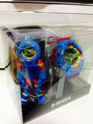 Casio Gshock Limited Edition GA-110F-2DR hyper color
