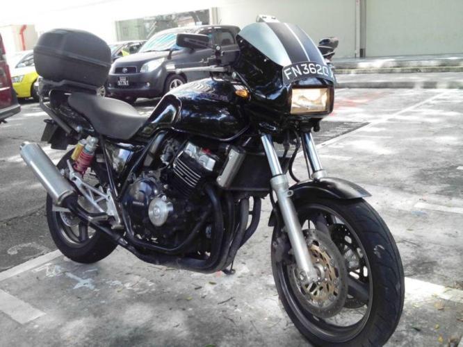cb 400 version R