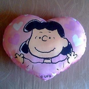 Charlie Brown's pink LUCY cushion pillow Kept in