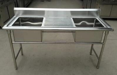 Cheapest stainless steel table,sink,double sink,sliding