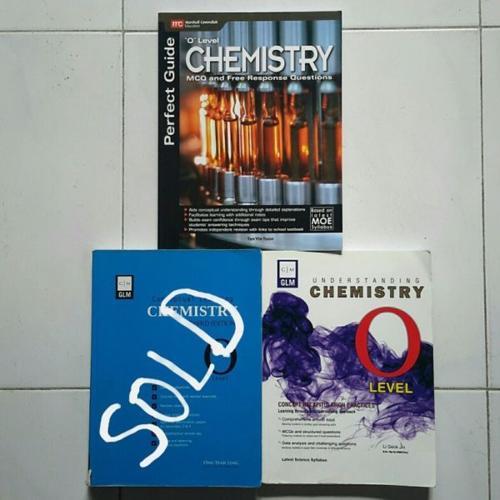 Chemistry textbooks