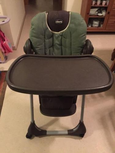 Chicco high chair from the usa