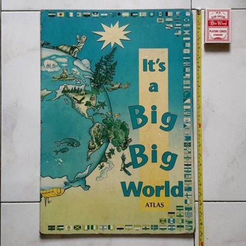 Children Atlas book