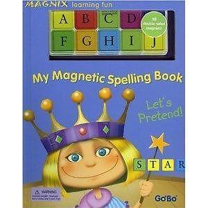 Children book - My Magnetic Spelling Book: Let's
