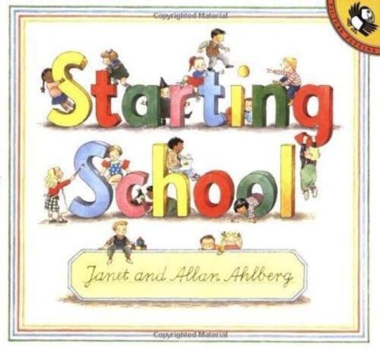 Children books -starting School (Picture Puffin)