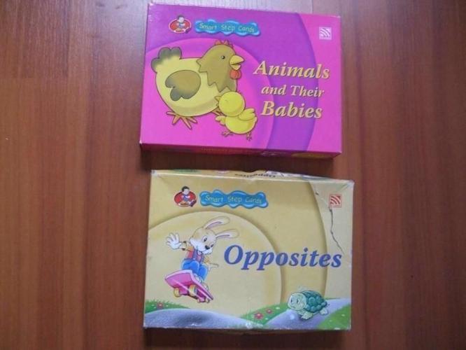Children Flash cards - Smart step cards @$5each