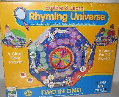 Children games - RHYMING UNIVERSE