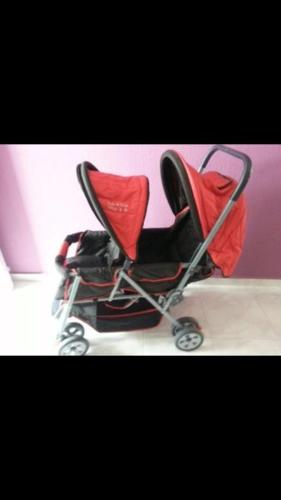 Chris & belle twin stroller