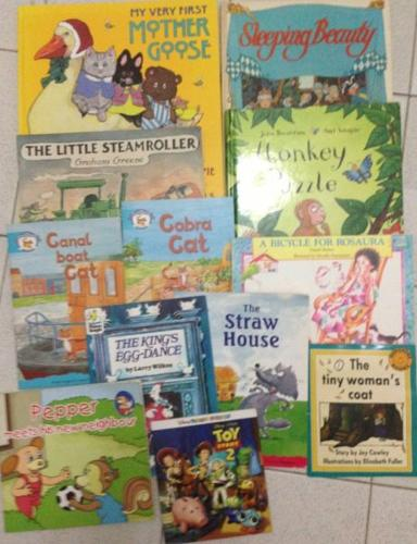 Clearing out - lots of kids books
