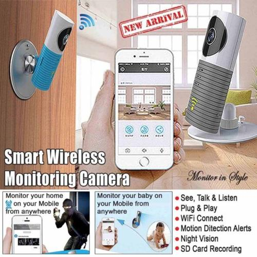 Clever Dog Smart Camera CCTV WiFi Support Night Vision
