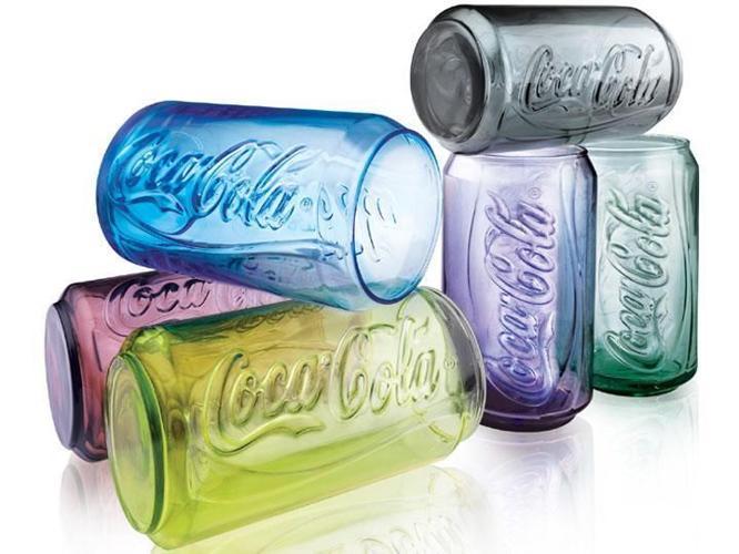 CocaCola Contour Can Glass