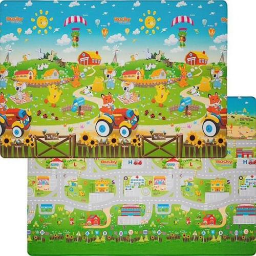 Colorful playmat soft perfect condition Bubba Mats™